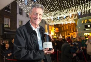 Michael Palin and Nyetimber