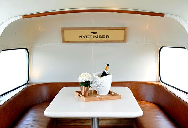 Passengers can relax and enjoy a glass of Nyetimber from the comfort of the Upper Deck.