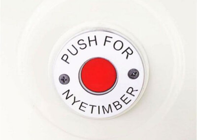The bus is filled with character, celebrating its iconic heritage. A 'Push for Nyetimber' button means you need only lift a finger to replenish your glass!