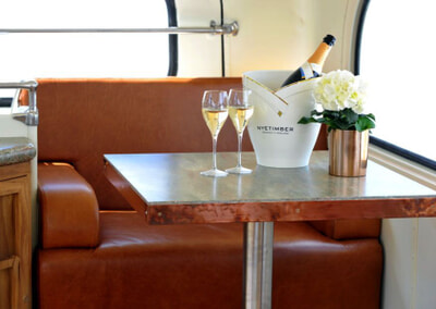 An idyllic setting to treat yourself to a glass of Nyetimber and savour your surroundings