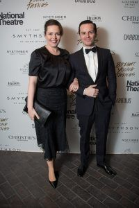Olivia Colman and Andrew Scott