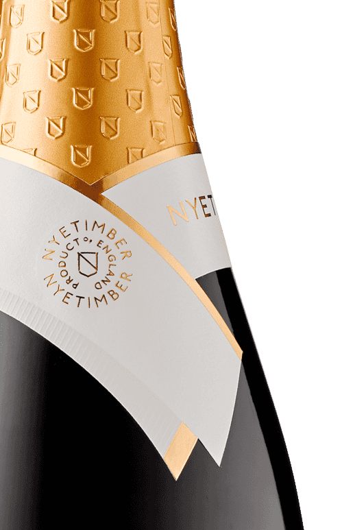Nyetimber Blanc de Blancs Bottle Detail